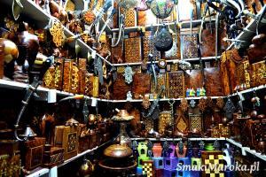Souk w Marrakeszu