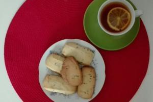 Ciasteczka lawendowe w wykonaniu Dagmary