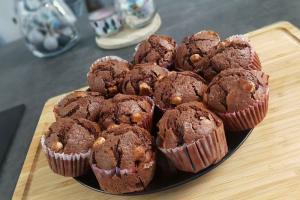 Muffiny czekoladowe w wykonaniu Magdy