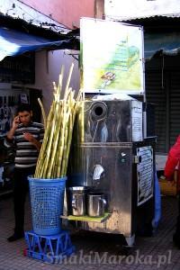 Maszyna do soku z trzciny cukrowej, Souk Rabat - Medina