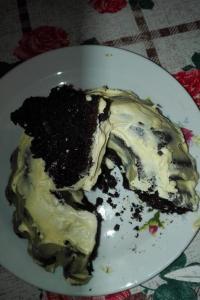 Czekoladowe ciasto z cukinią w wykonaniu Barbary