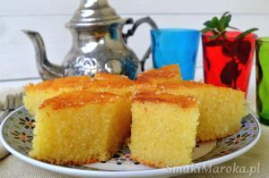 Basboussa - arabskie ciasto z semoliną