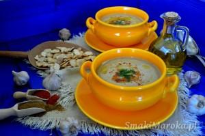 Bissara - marokańska zupa krem z suszonego bobu