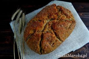 Chrupiący chleb z garnka rzymskiego (najlepszy!)