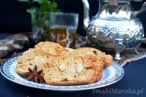 Fekkas - marokańskie ciasteczka w stulu cantuccini