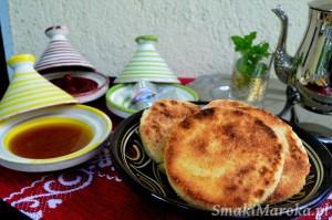 Harcha - okrągłe chlebki marokańskie z semoliny