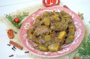 Kaczka z jabłkami i marokańską nutą