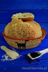 Khobz - marokański chlebek pszenny