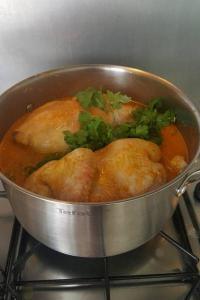 Kurczak z oliwkami po marokańsku w wykonaniu Magdy