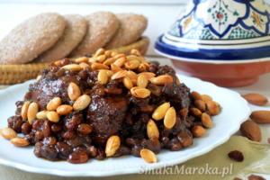 Mrouzia - jagnięcina na słodko po marokańsku