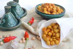 Tayeb o hari - marokańska przekąska z ciecierzycy
